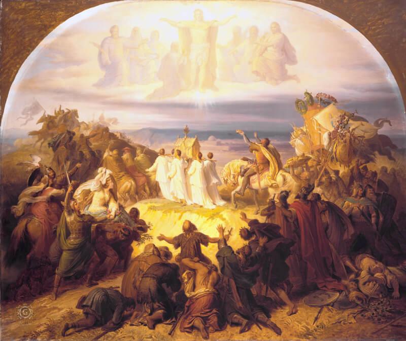 Crusaders-near-Jerusalem