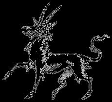 Heraldic-Antelope